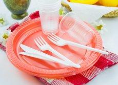 В России запретят ватные палочки и пластиковую посуду