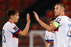 Сборная России по футболу победила Мальту