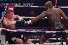 Британский боксер Уайт отправил в нокаут Поветкина