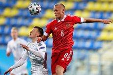 Молодежная сборная России по футболу проиграла Франции