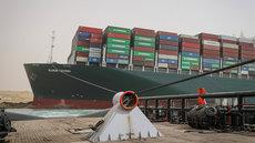 Нефть подешевела после освобождения Суэцкого канала