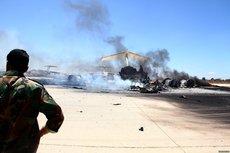 Ливийская база Аль-Джуфра попала под массированный авиаудар турецких самолетов
