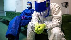 В России за сутки коронавирус выявили у 9169 человек
