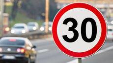 ГИБДД одобрила предложение снизить скорость движения в городах