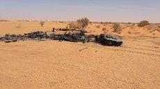 Военные обозреватели определили модель сгоревшего в Ливии вертолёта ЛНА