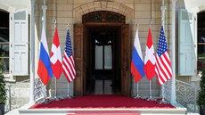 Путин прибыл в Женеву на переговоры с Байденом