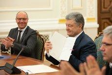 В поддержку облитого зелёнкой Порошенко высказалось посольство США