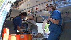 Под Сочи в аварию попал автобус с 15 детьми