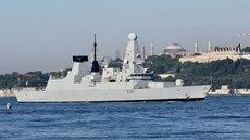 Журналист BBC: британский корабль намеренно нарушил границы России
