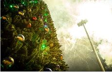 Россия организовала в ЦАР рождественский праздник с салютом и елкой