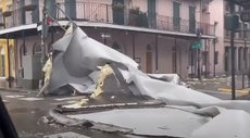 Мощь урагана «Ида»: река в США потекла в обратную сторону