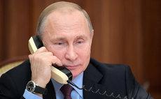 Путин провел телефонный разговор с Байденом