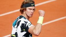 Российский теннисист Андрей Рублев сыграет против Рафаэля Надаля