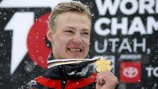 Российский сноубордист стал трехкратным чемпионом мира