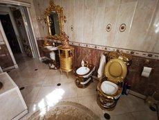 У задержанного главы ГИБДД Ставрополья нашли золотой унитаз
