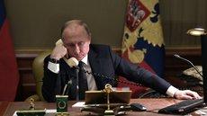 Путин обсудил с Макроном ситуацию в Донбассе и Нагорном Карабахе