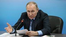 Путин высказался резко об авторах призывов к детским суицидам