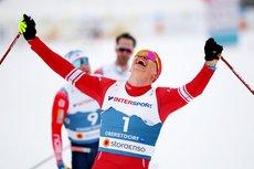 Российские лыжники стали вторыми в эстафете на ЧМ