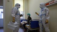 В России за сутки выявлено менее 10 тысяч новых случаев COVID-19