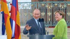 Путин и Меркель неоднократно ругались из-за Украины