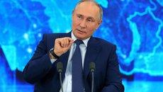 Путин сравнил российские вакцины от COVID-19 с автоматом Калашникова