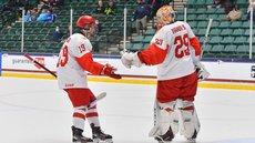 Российские юниоры проиграли канадцам в финале ЧМ по хоккею