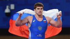 Россиянин стал олимпийским чемпионом по греко-римской борьбе