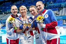 Российские синхронистки стали олимпийскими чемпионками