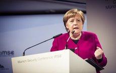 Меркель оценила прогресс по урегулированию кризиса в Донбассе одним словом