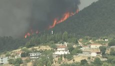 Греция в огне: 56 пожаров,