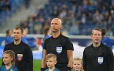 Российские арбитры не преклонили колени перед матчем Лиги чемпионов