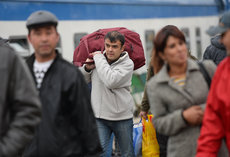 Мигранты начали настоящую войну за работу и хлеб