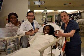 Женщина родила шестерых детей за 9 минут