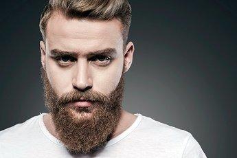 Даже в ухоженной бороде живет много бактерий